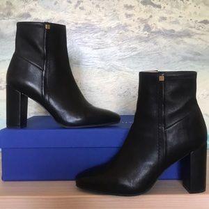 STUART WEITZMAN black leather BAMA boots 7.5 EUC